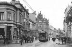 historische elektrische Straßenbahn