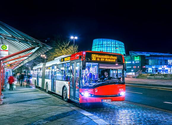 Gelenkbus Solaris Urbino 18