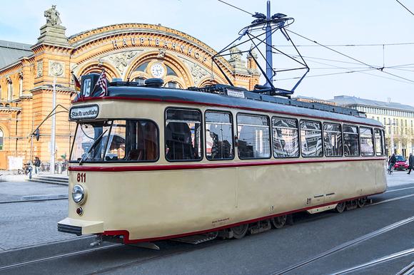 historische Straßenbahn