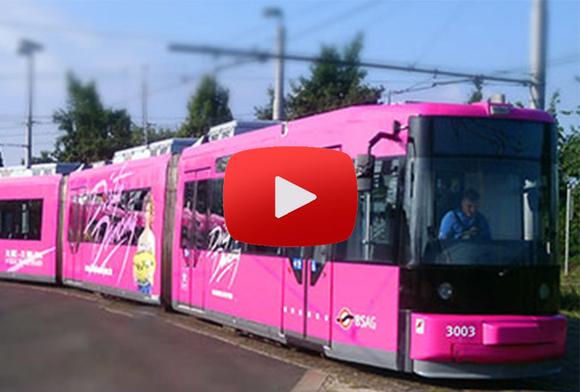 Video Fahrzeugwerbung